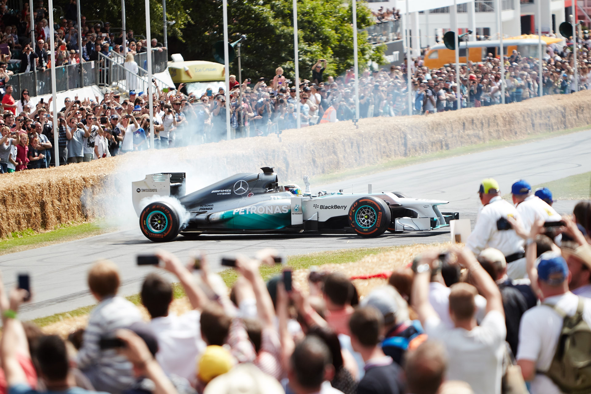 Lewis Hamilton at Goodwood Festival of Speed